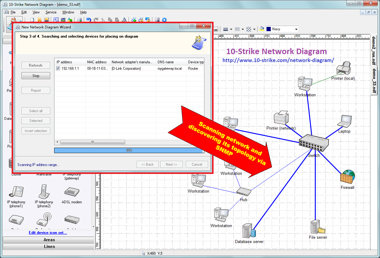 Network diagram createg 10 strike network diagram software for creating topology ccuart Image collections